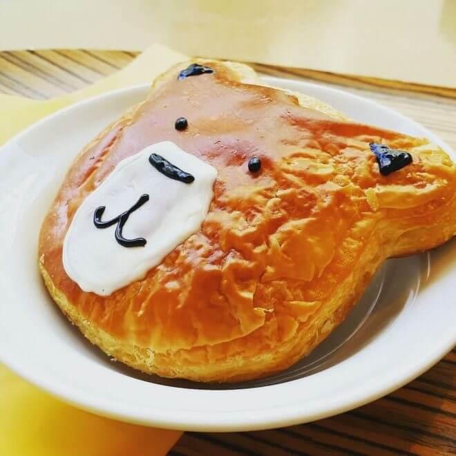 くまみこカフェのクマ井ナツパン