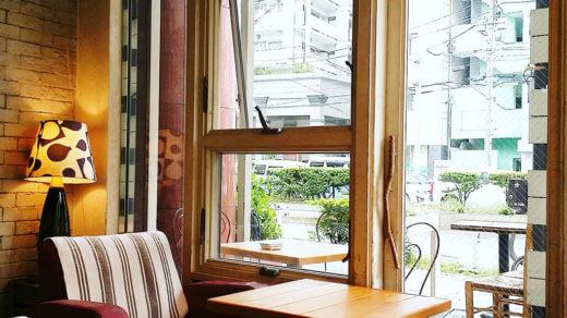 Lu's CAFEの内装